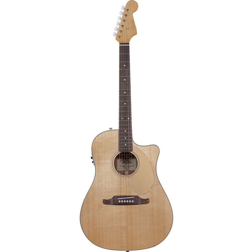 Violão Eletro-Acústico Fender Sonoran SCE Natural