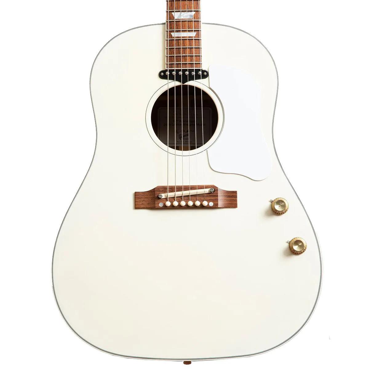 Violão Eletro-Acústico Gibson John Lennon EJ-160E 70th White