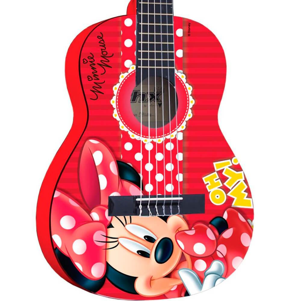 Violão Infantil Acústico Phx VID-MN1 Disney Minnie
