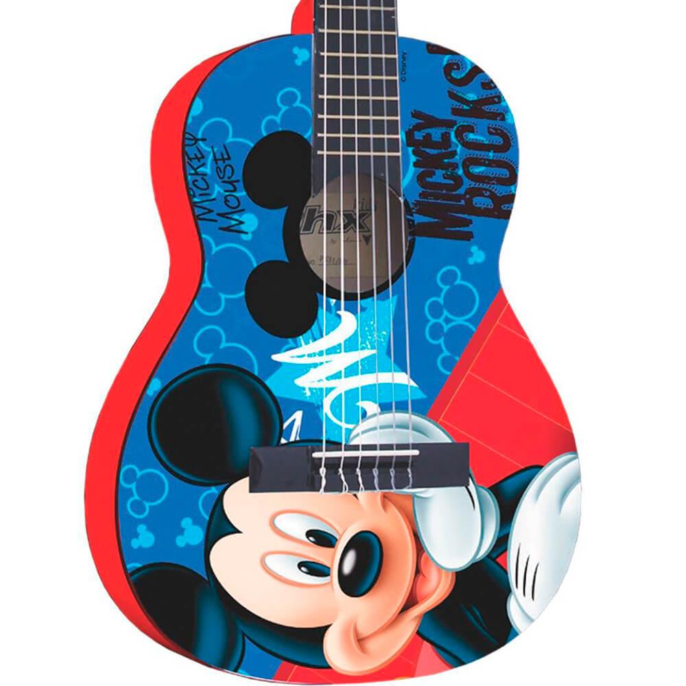 Violão Infantil Acústico Phx VID-MR1 Disney Mickey Rocks