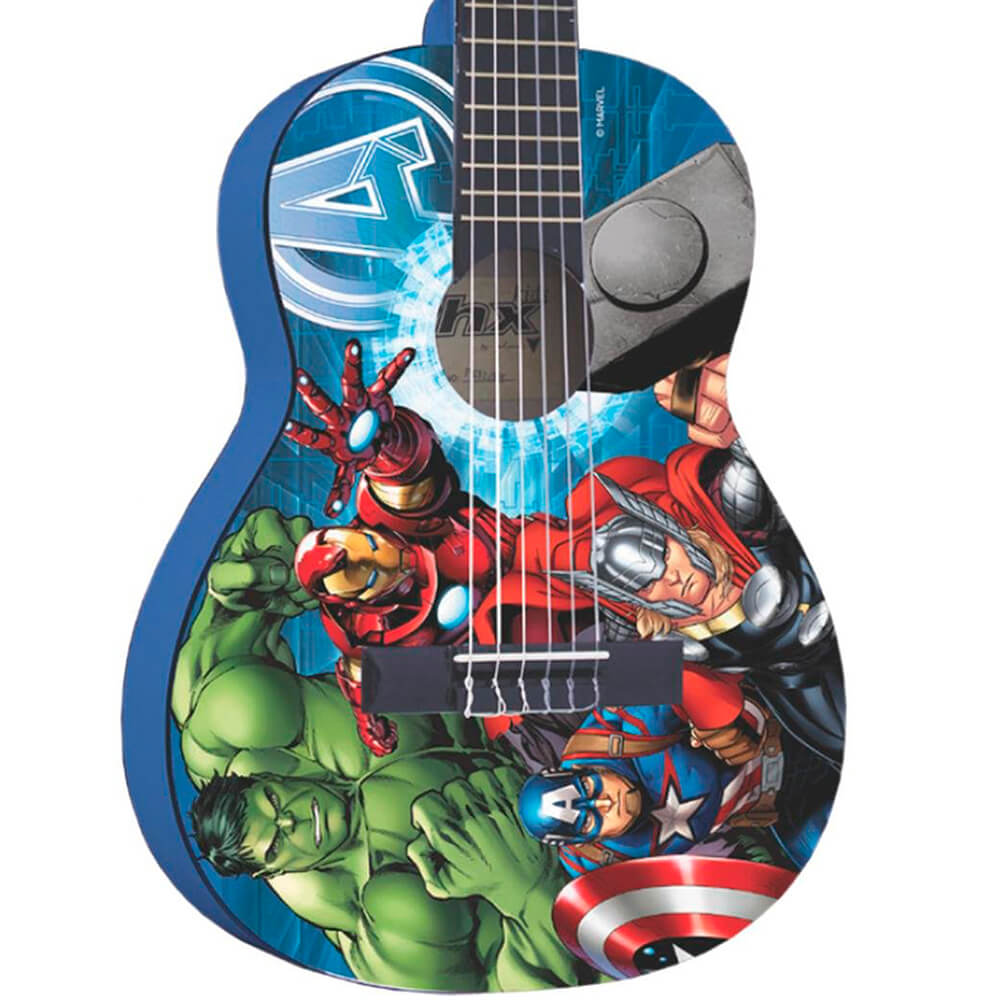 Violão Infantil Acústico Phx VIM-A1 Marvel Avengers