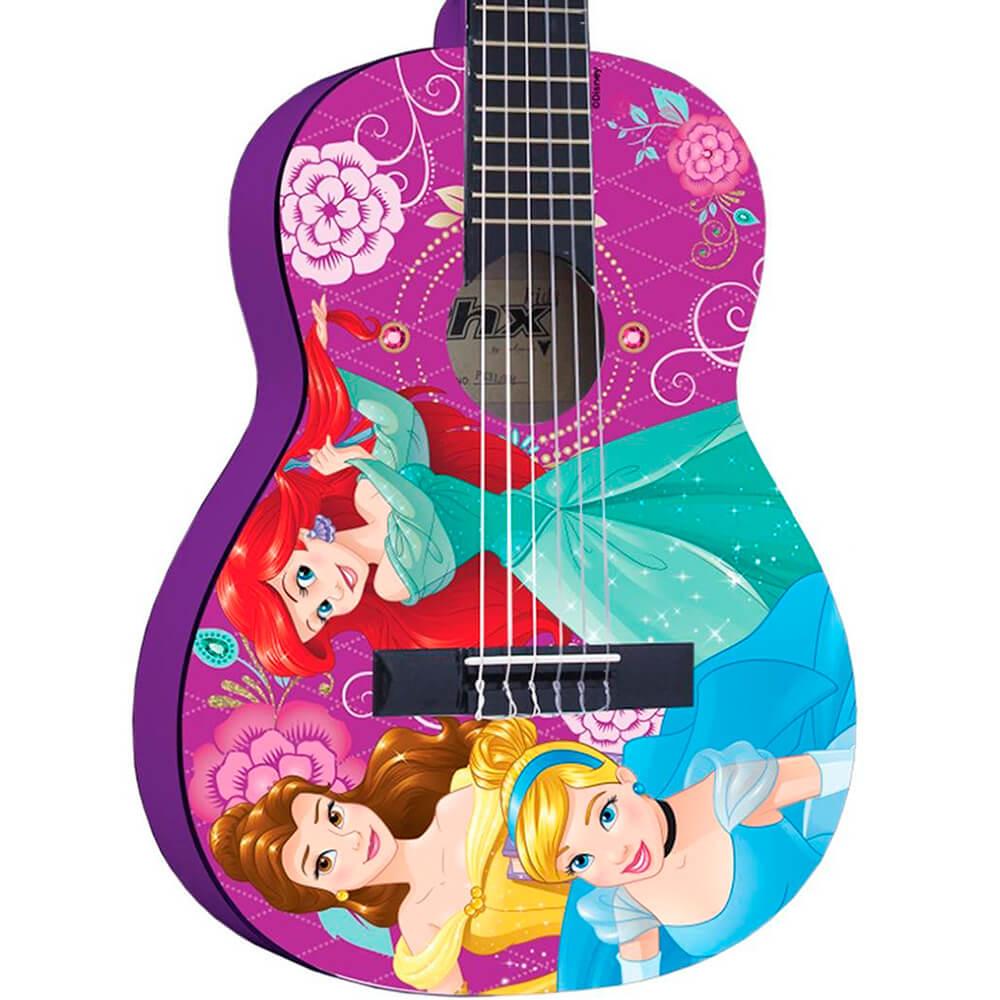 Violão Infantil Acústico Phx VIP-4 Disney Princesas