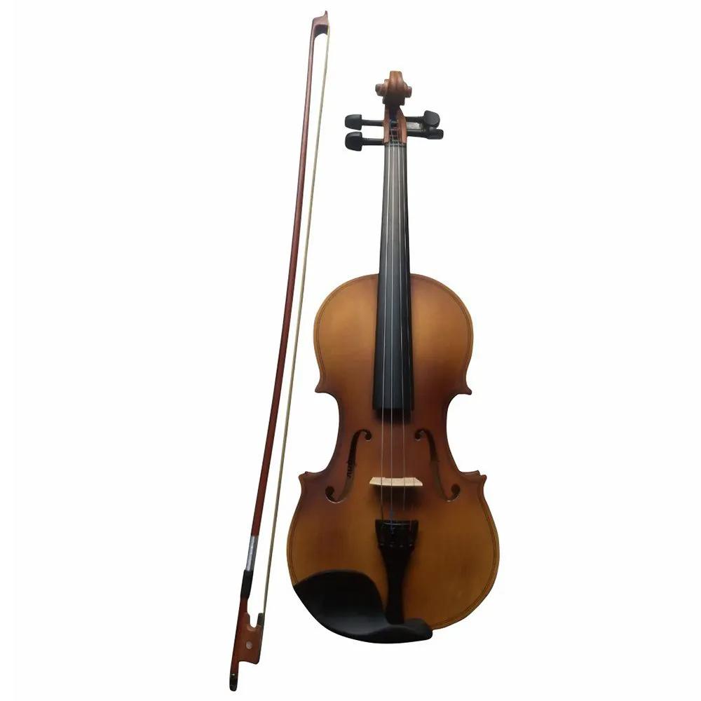Violino Acústico Harmony Clássico 4/4 Natural Fosco com Case