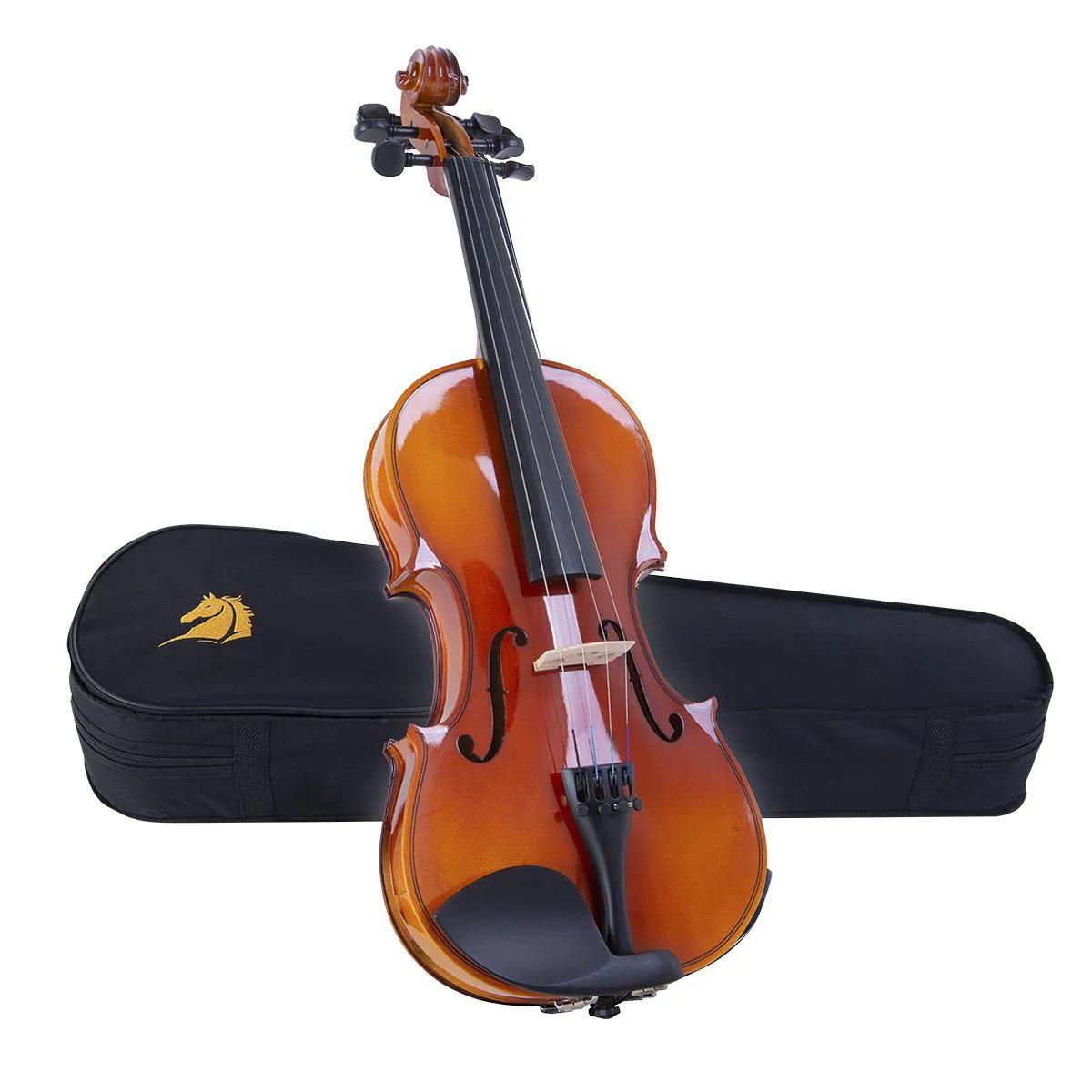 Violino Acústico Marquês VIN-123 4/4 Natural com Estojo