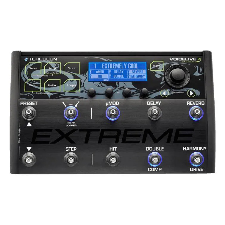 Voicelive 3 extreme - PEDAL - TC HELICON