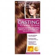 Coloração Permanente Casting Creme Gloss 7.34