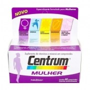 Complexo Vitamínico Centrum Mulher 60 Comprimidos