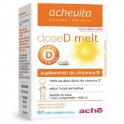 Dose D - Suplemento de Vitamina C Sabor Maça Verde Com 10 Ml