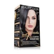 Kit Coloração Permanente BeautyColor Preto Azulado 2.11
