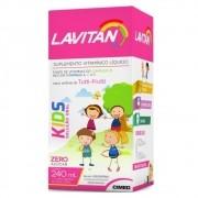 Lavitan  KIDS 240 ml  Sabor Tutti-Frutti