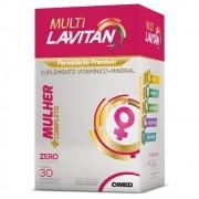 Suplemento Vitamínico Lavitan Multi Mulher 30 Comprimidos