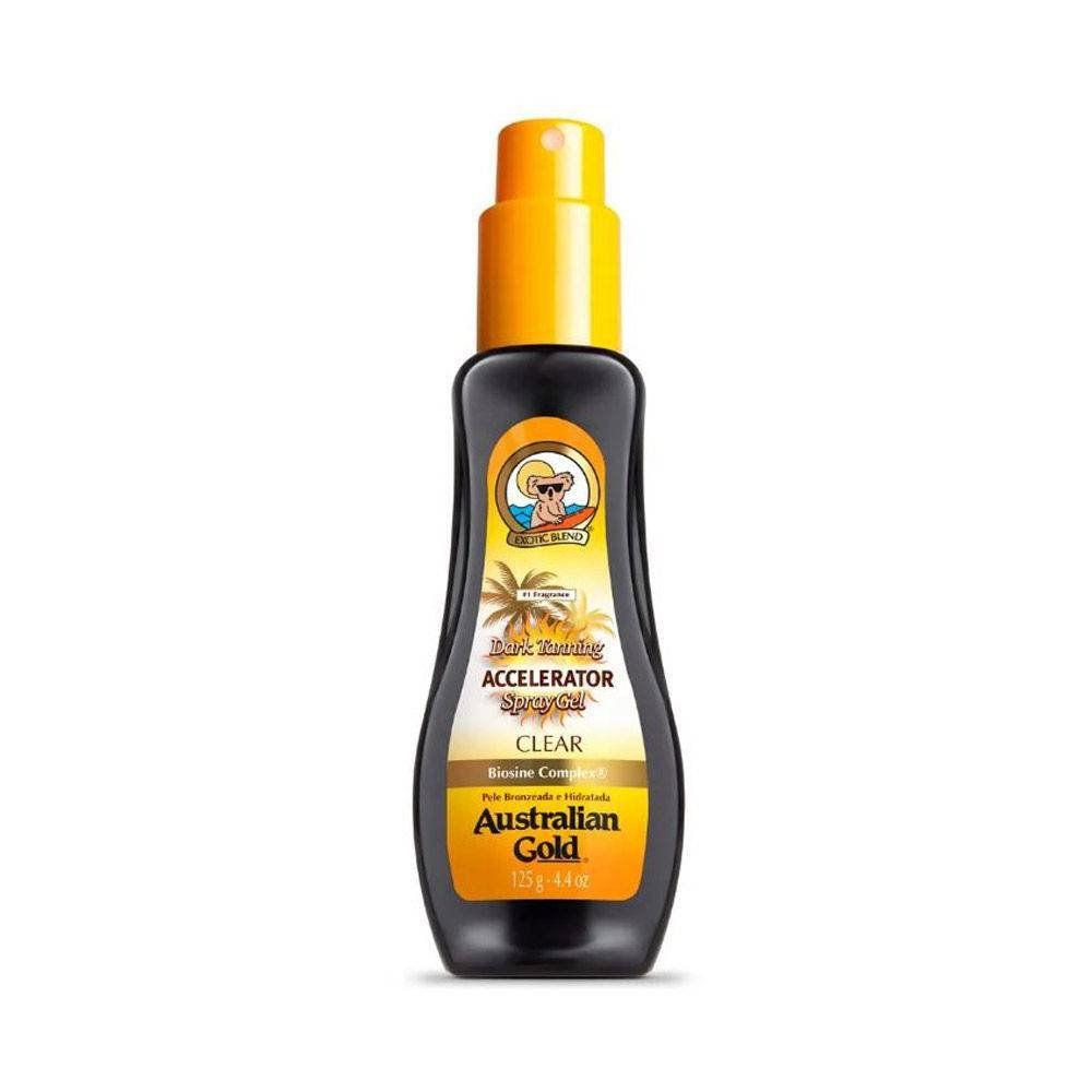 Acelerador de Bronzeado Spray Australian Gold Dark Tanning Australian 237ml