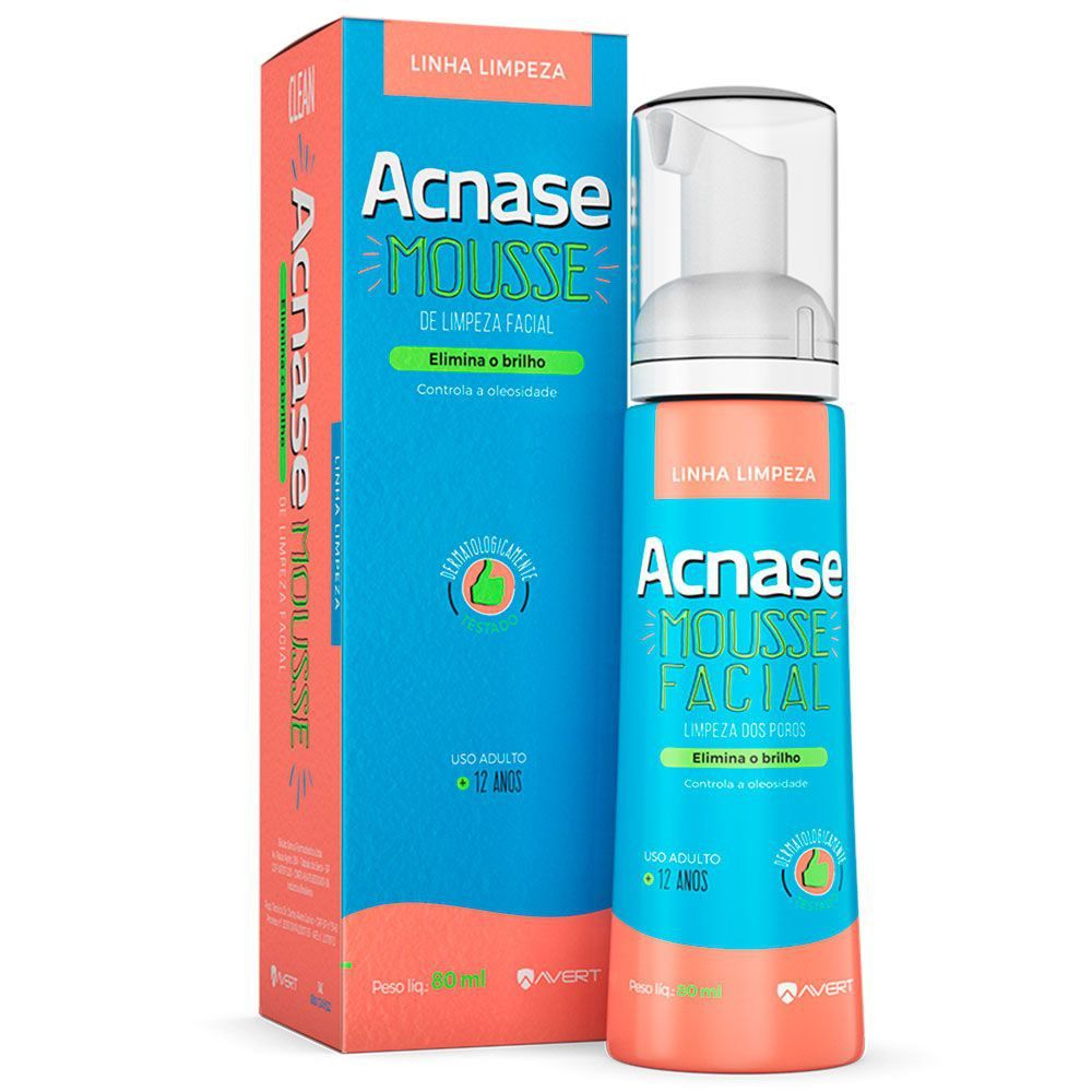 Acnase Mousse Facial 80ml