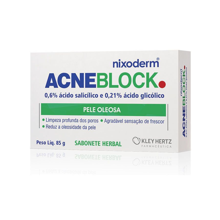 Acneblock Sabonete Herbal 85g