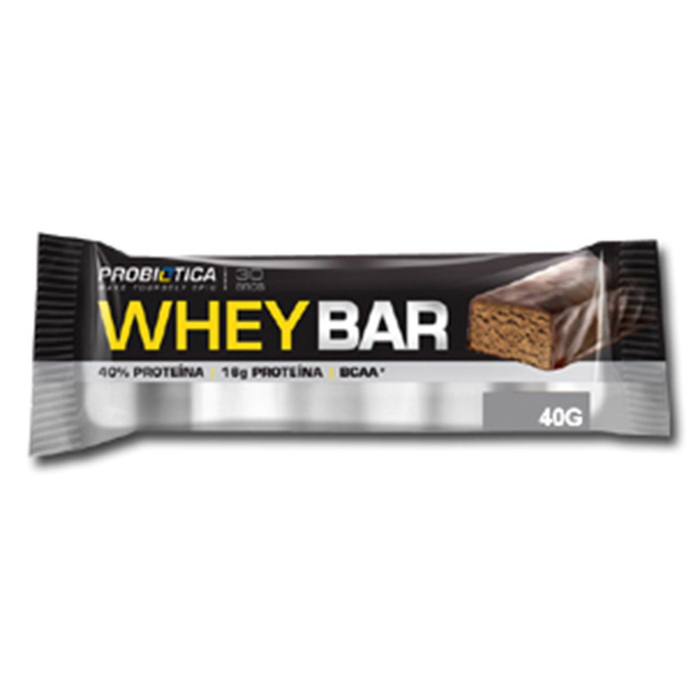 Barra Whey 40gr Amendoim Probiotica
