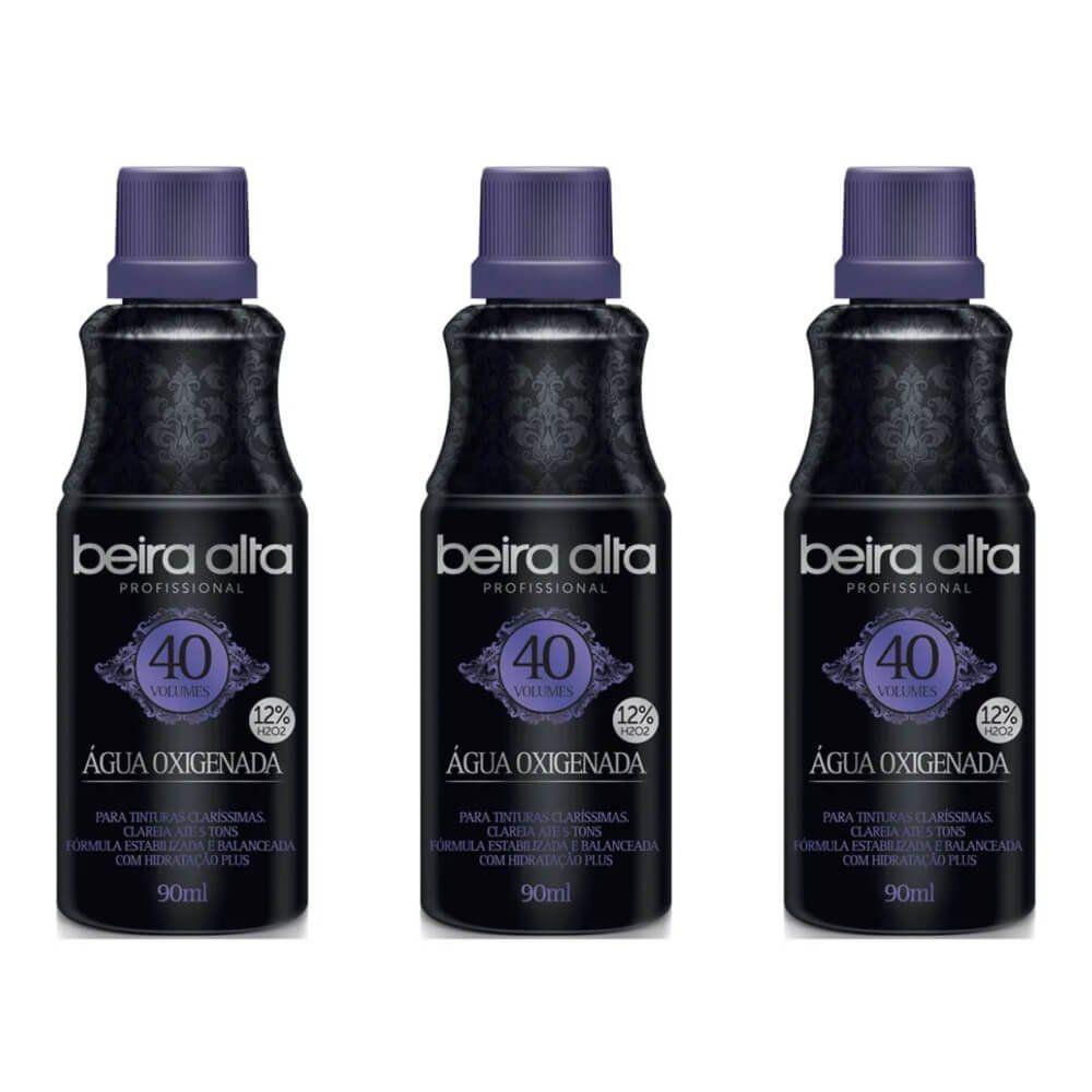 Beira Alta Black Água Oxigenada Vol 40 90ml