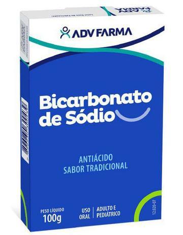 Bicarbonato de Sódio Caixa 100g Adv