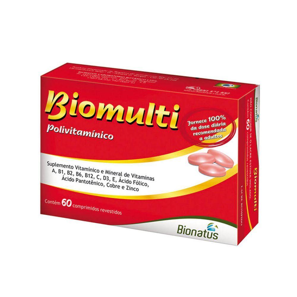 Biomulti Com 60 Comprimidos
