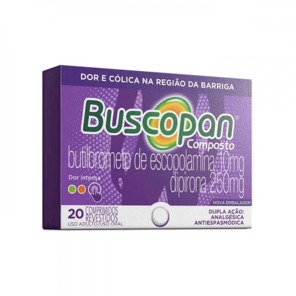 Buscopan Composto 20 Comprimidos