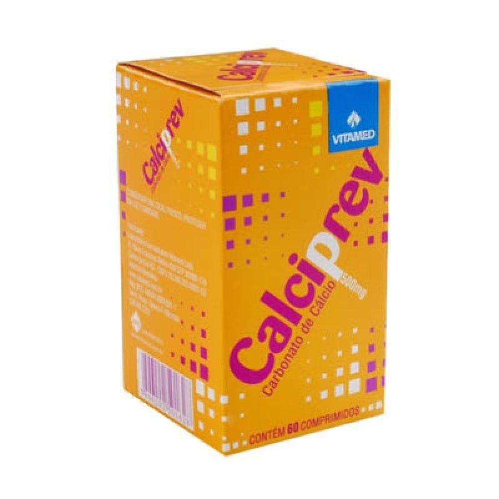 Calciprev 500mg 60 Comprimidos Vitamed