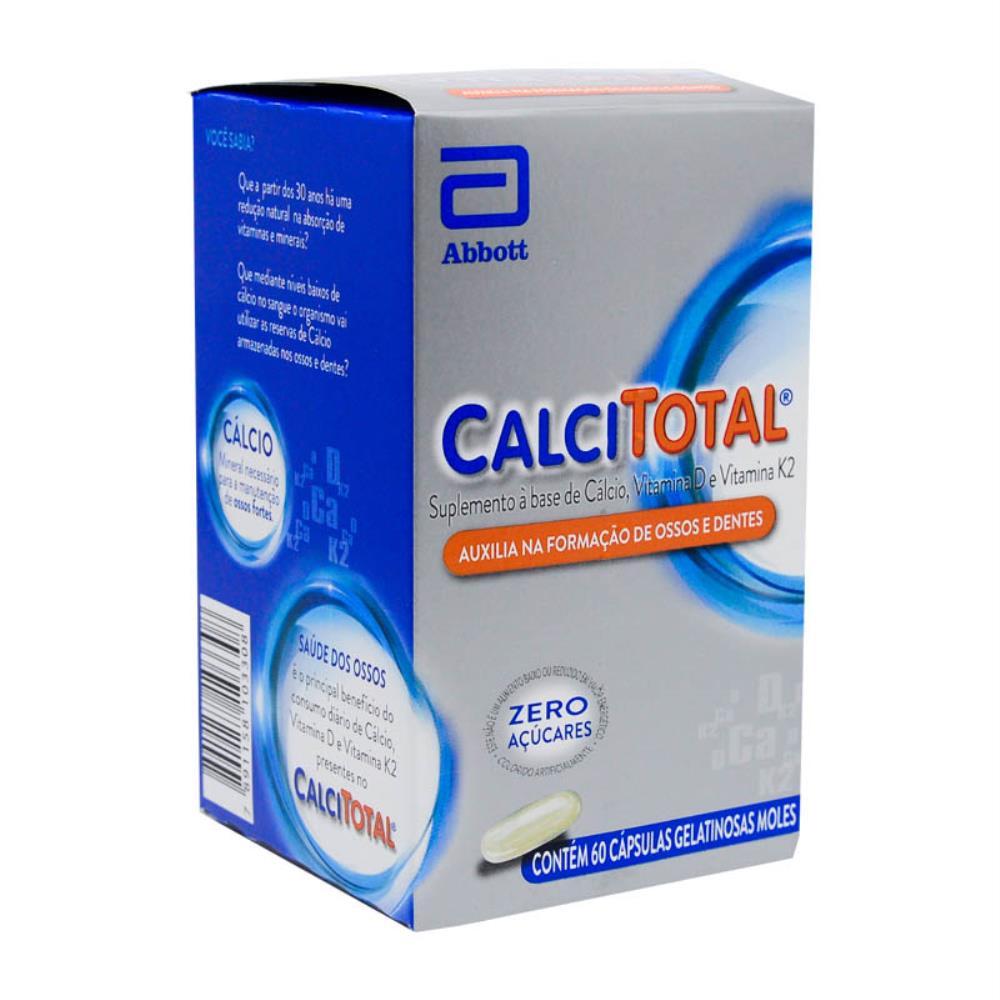 Calcitotal 60 Cápsulas Abbott