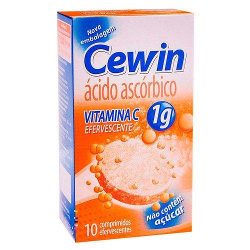 Cewin 1g Sanofi Laranja 10 Coprimidos Efervescentes