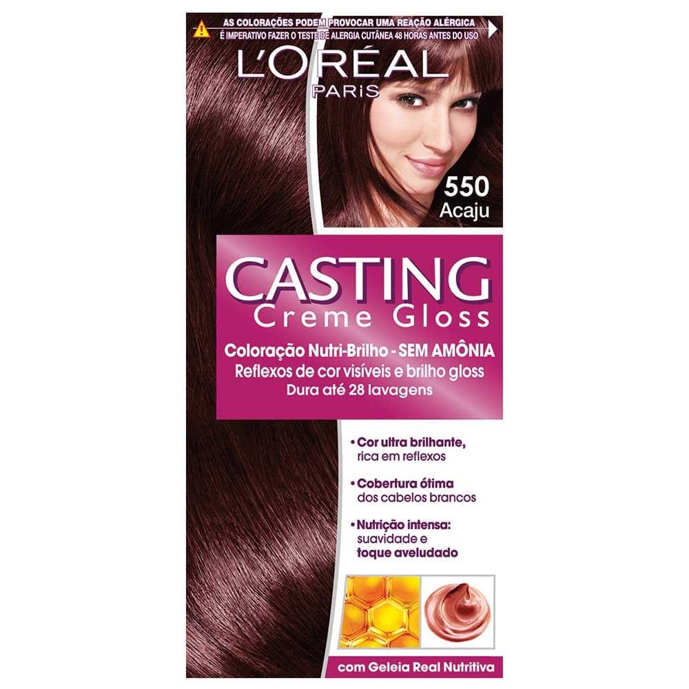 Coloração  Casting Creme Gloss 550 Acaju