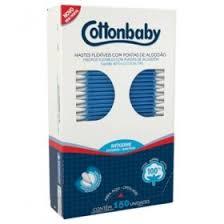 Contonete Cottonbaby com 150 Unidades