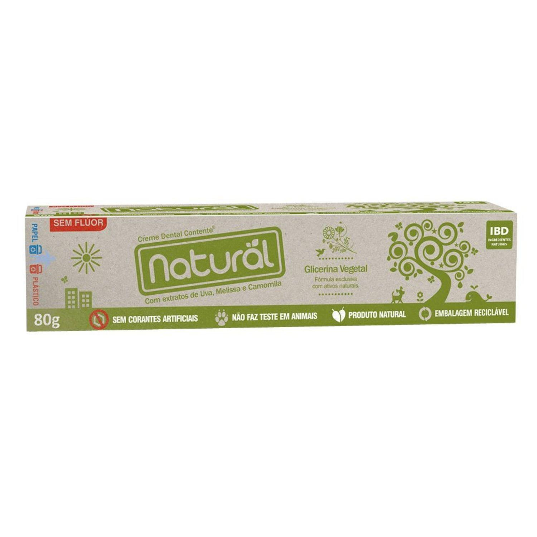 Creme Dental Orgânico Natural - Suavetex Camomila - 80g