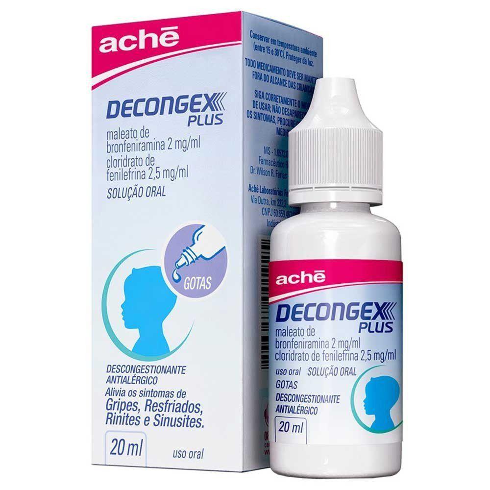 Decongex Plus Gotas 20ml