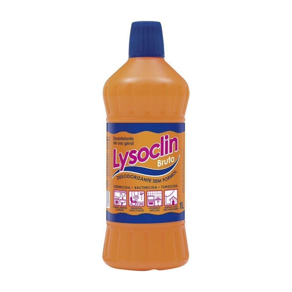 Desinfetante Lysoclin Bruto Lavanda Embalagem 1L