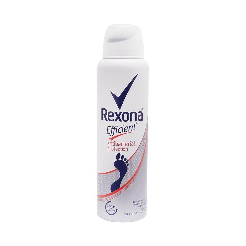 Desodorante Aerosol Rexona Efficient Antibacterial