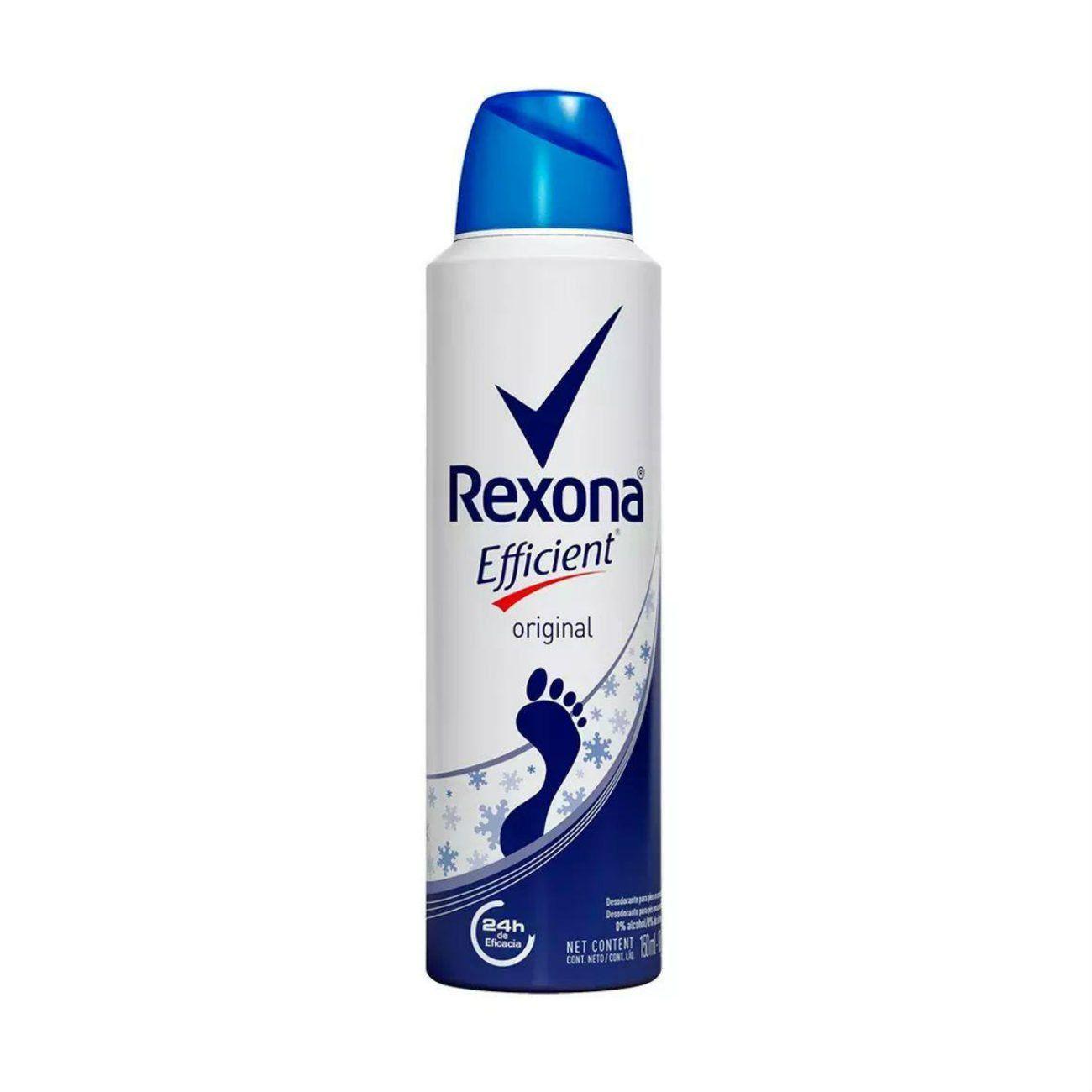 Desodorante Aerosol Rexona Efficient Original para os pés