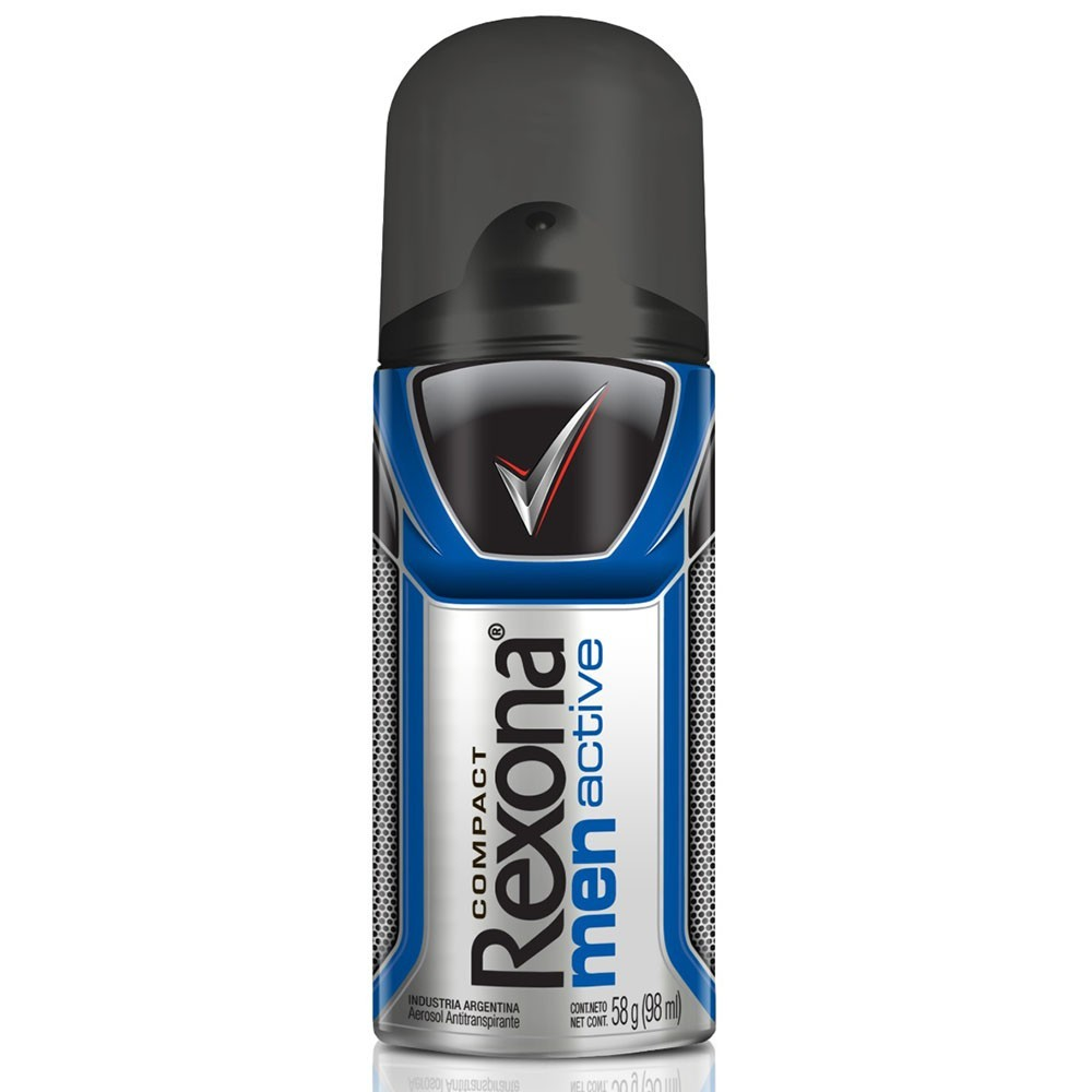 Desodorante Aerosol Rexona Masculino Active 58g