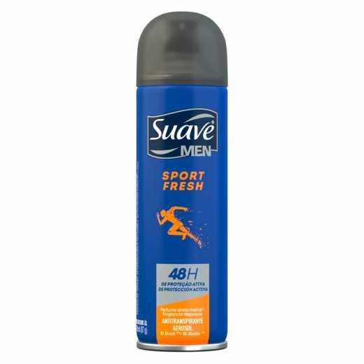 Desodorante Aerosol Suave Men Sport Fresh 150ml