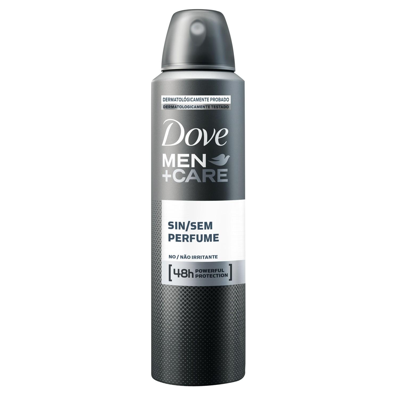 Desodorante Antitranspirante Aerosol Dove Men+Care Sem Perfume 150ml