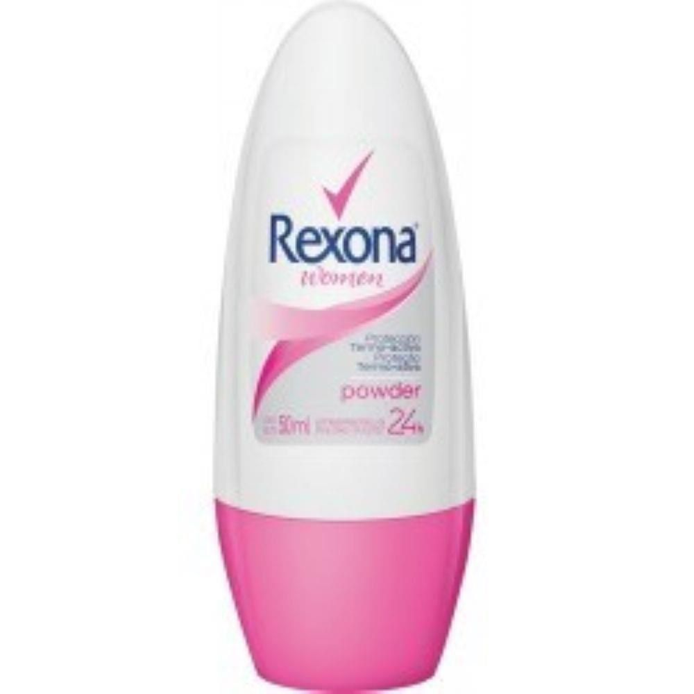 Desodorante Rexona Roll On Powder Feminino 50ml