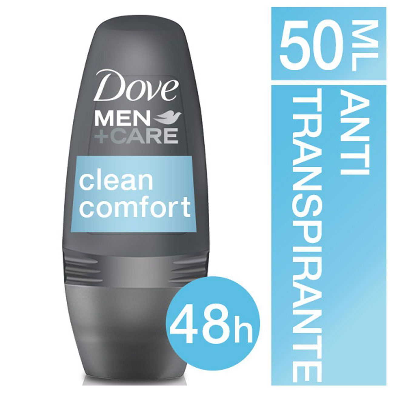 Desodorante Roll On Dove Men + Care Clean Comfort 50ml