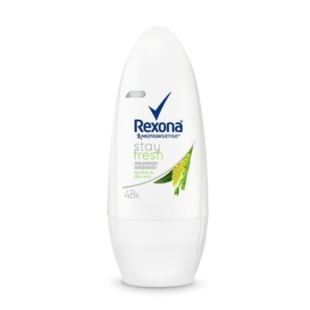 Desodorante Roll-On Rexona Compact Bamboo & Aloe Vera