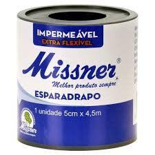 Esparadrapo Impermeavel Missner 5CM X 10M