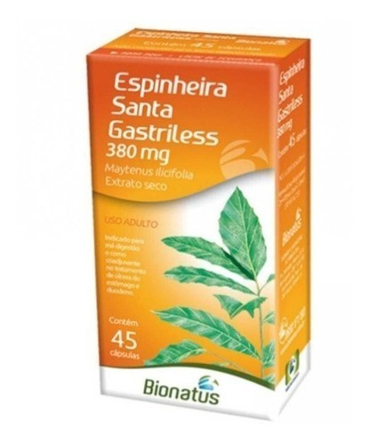 Espinheira Santa Bionatus - 45 Comprimidos