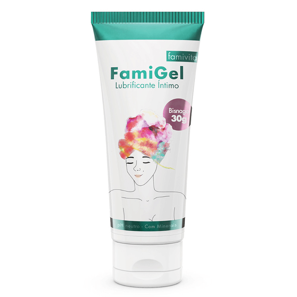 Famigel Gel Lubrificante Para Engravidar e Hidratante Vaginal 30g