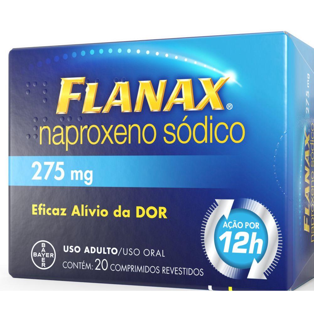 Flanax 275mg Bayer 20 Comprimidos