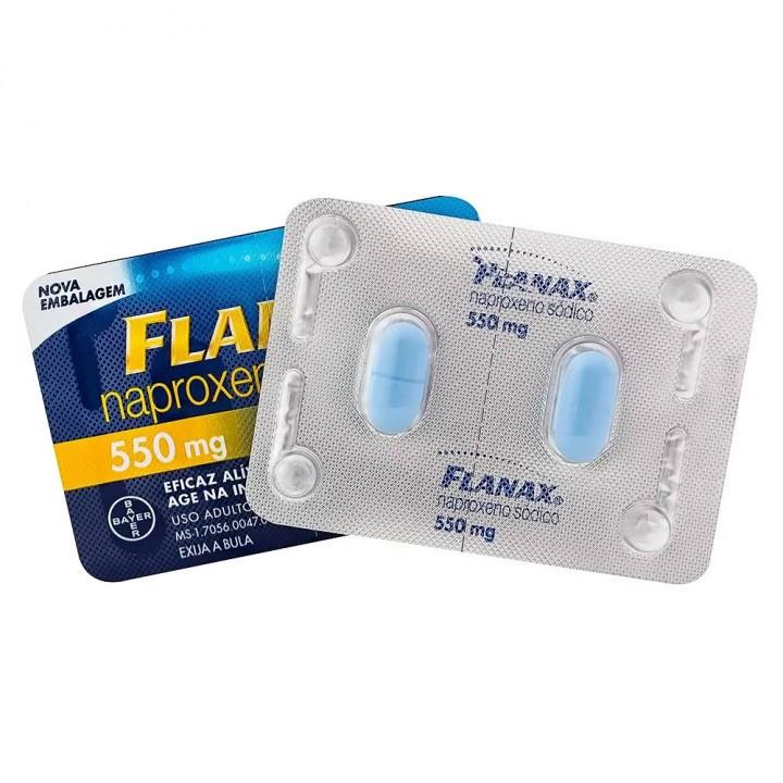 Flanax 550mg 2 Comprimidos