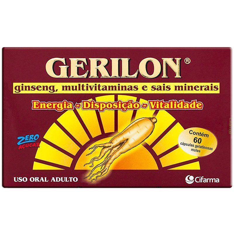 Gerilon 60 Cápsulas Gelatinosas