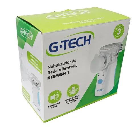 Inalador Nebulizador Nebmesh 1 G-tech c/ Rede Vibratória