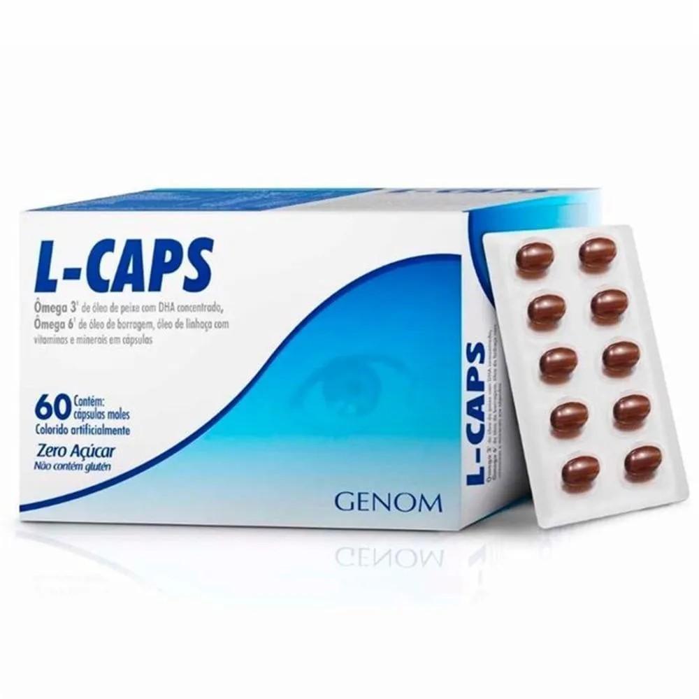 L-Caps Genom 60 Cápsulas