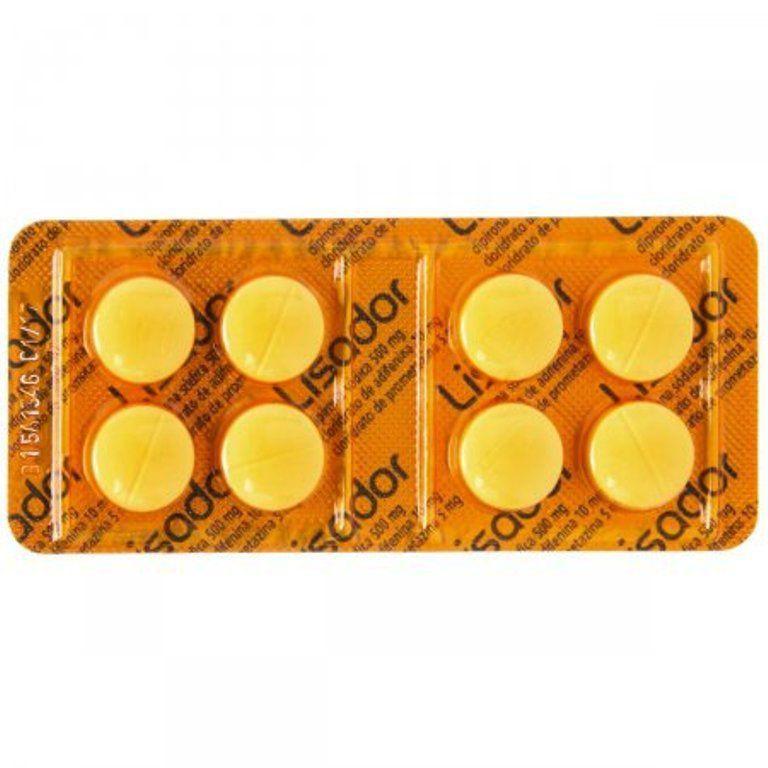 Lisador 8 Comprimidos
