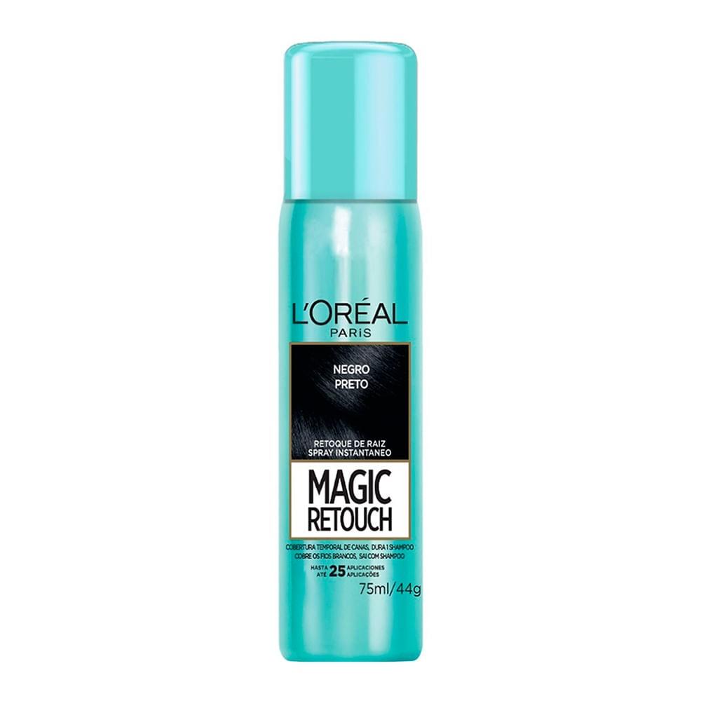 Magic Retouch L'Oreal Preto 75ml