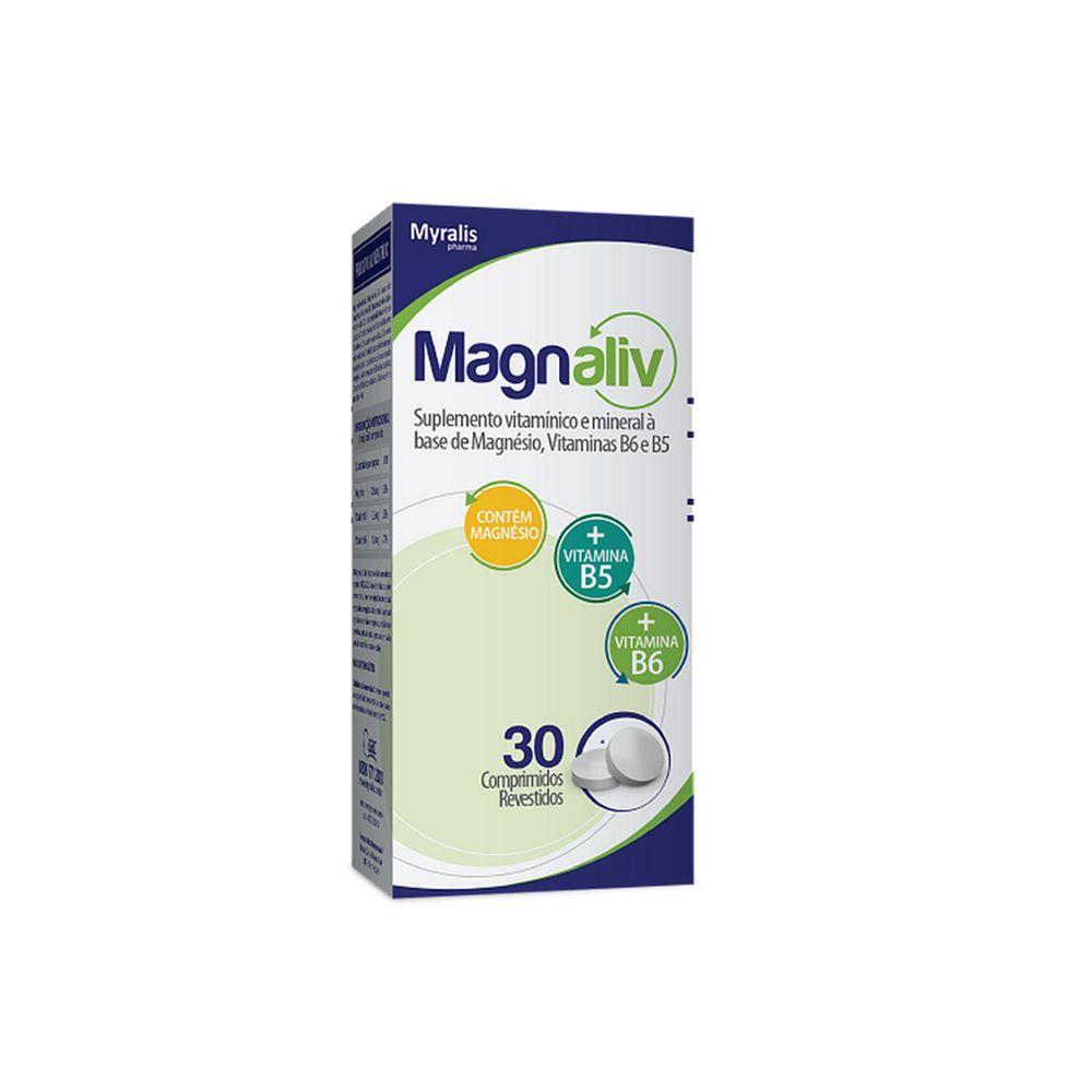 Magnaliv Suplemento Vitaminico E Mineral com 30 Comprimidos